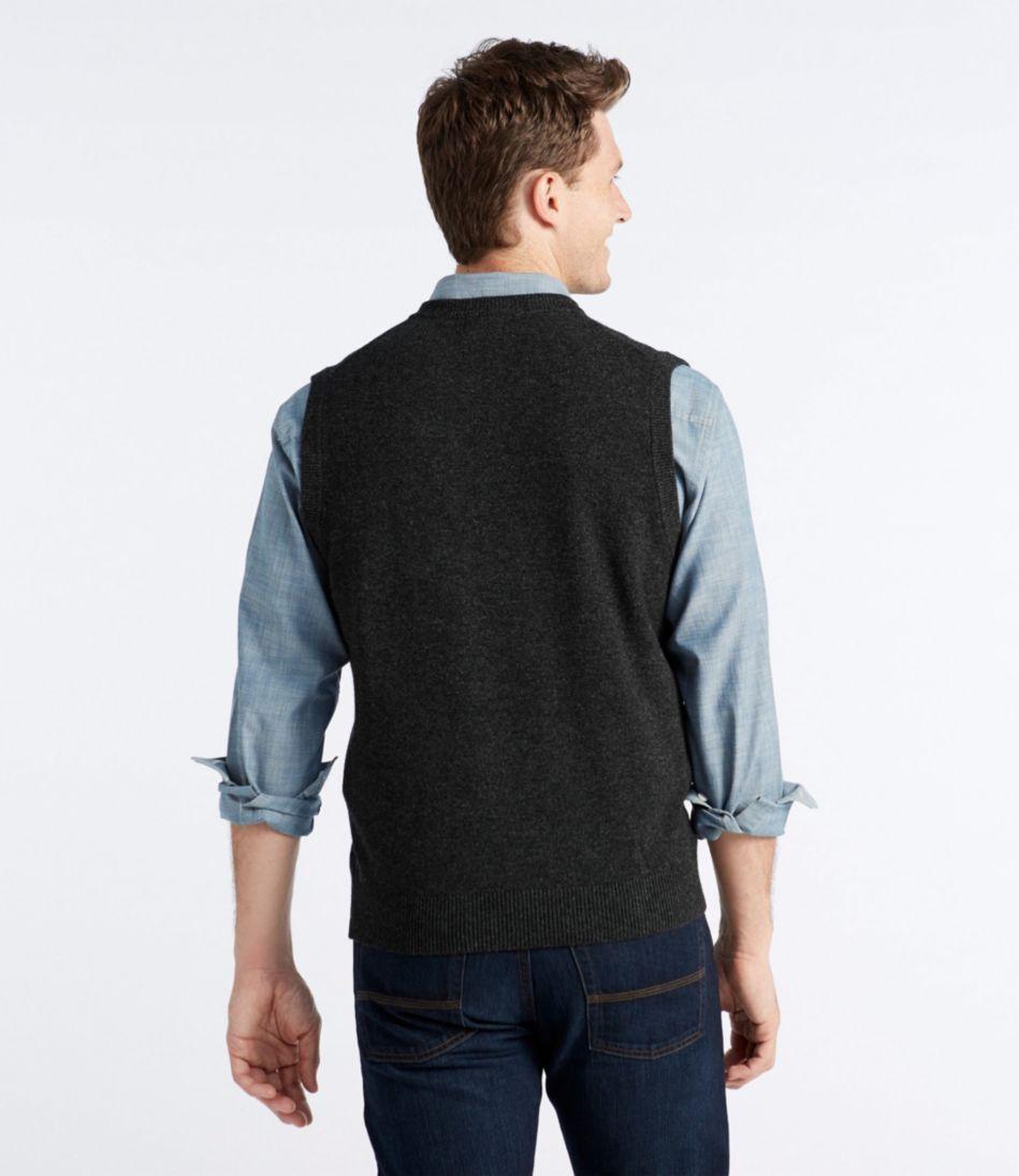 L.L.Bean Lambswool Vest