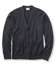 L.L.Bean Lambswool Cardigan
