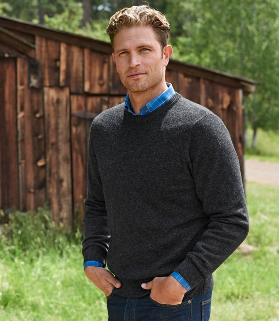 L.L.Bean Lambswool Crewneck Sweater