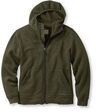 Men's Merino Wool Hooded Sweatshirt