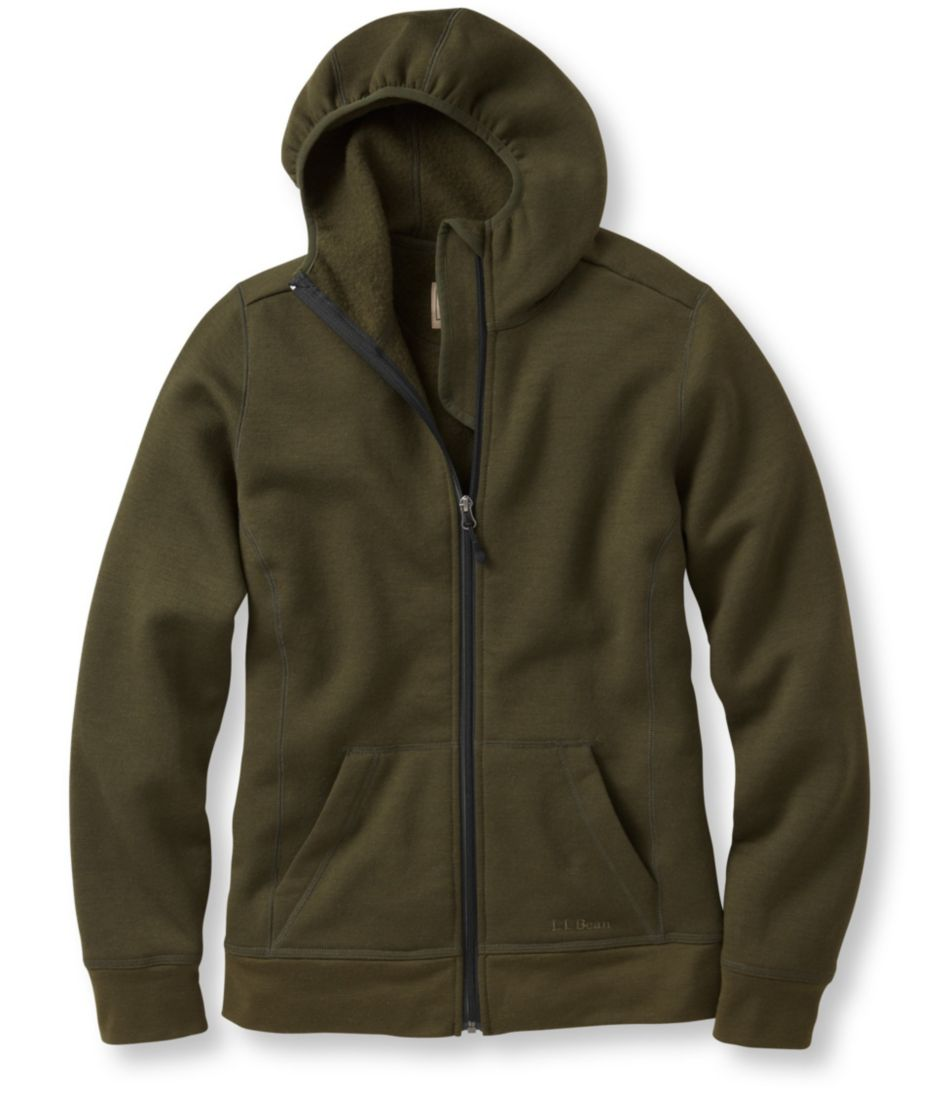 Women's Merino Wool Hooded Sweatshirt