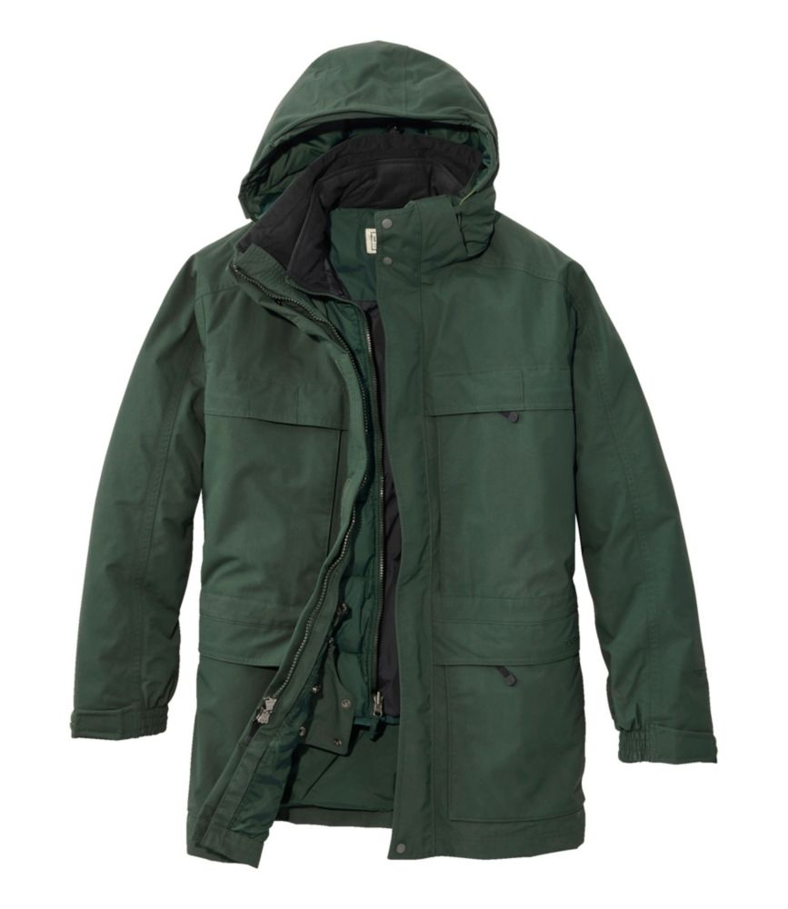 L.L.Bean Maine Warden's 3-in-1 Parka with Gore-Tex