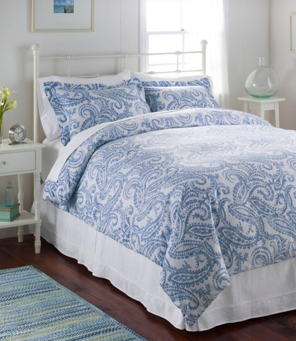 Premium Supima Flannel Comforter Cover, Floral