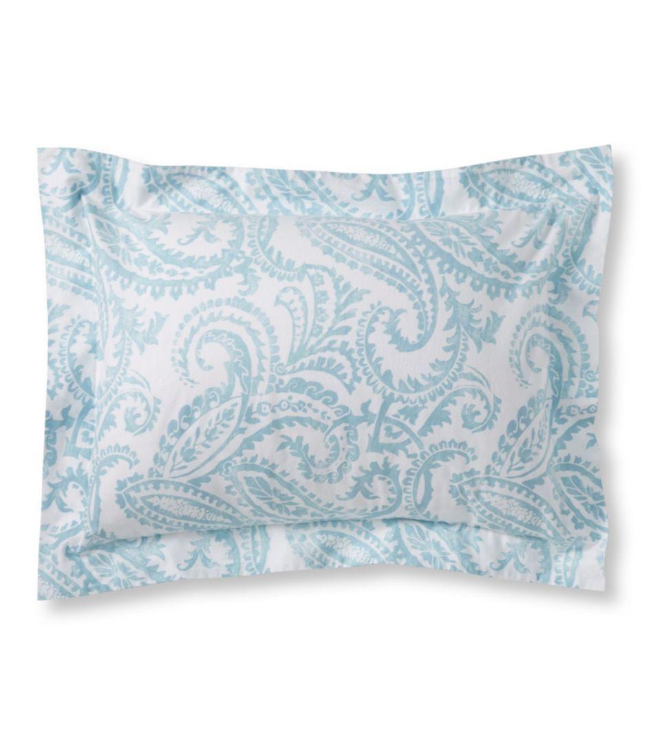 Premium Supima Flannel Sham, Floral
