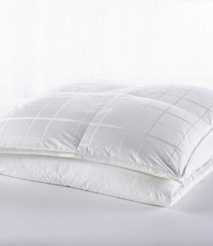 Sateen White Goose Down Comforter Warmer