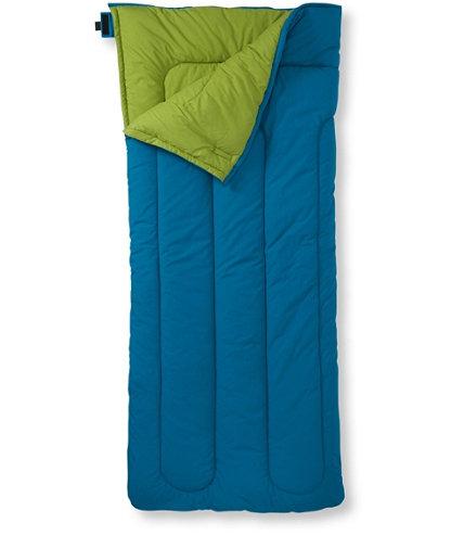 Camp Sleeping Bag Kids Cotton Blend Lined 40