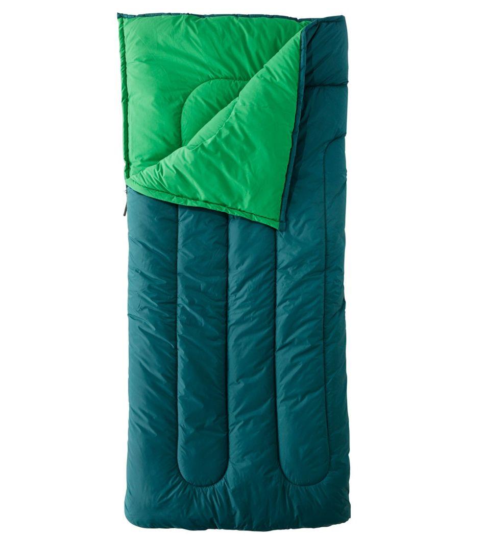 Camp Sleeping Bag, Cotton-Blend-Lined Regular 40°