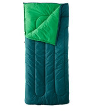 Camp Sleeping Bag, Cotton-Blend-Lined Regular 40°