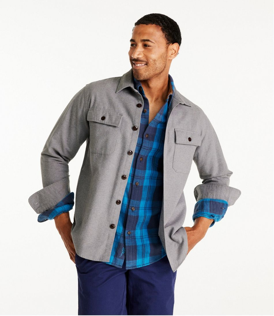 Men's Signature 1933 Chamois Cloth Shirt, Slim Fit