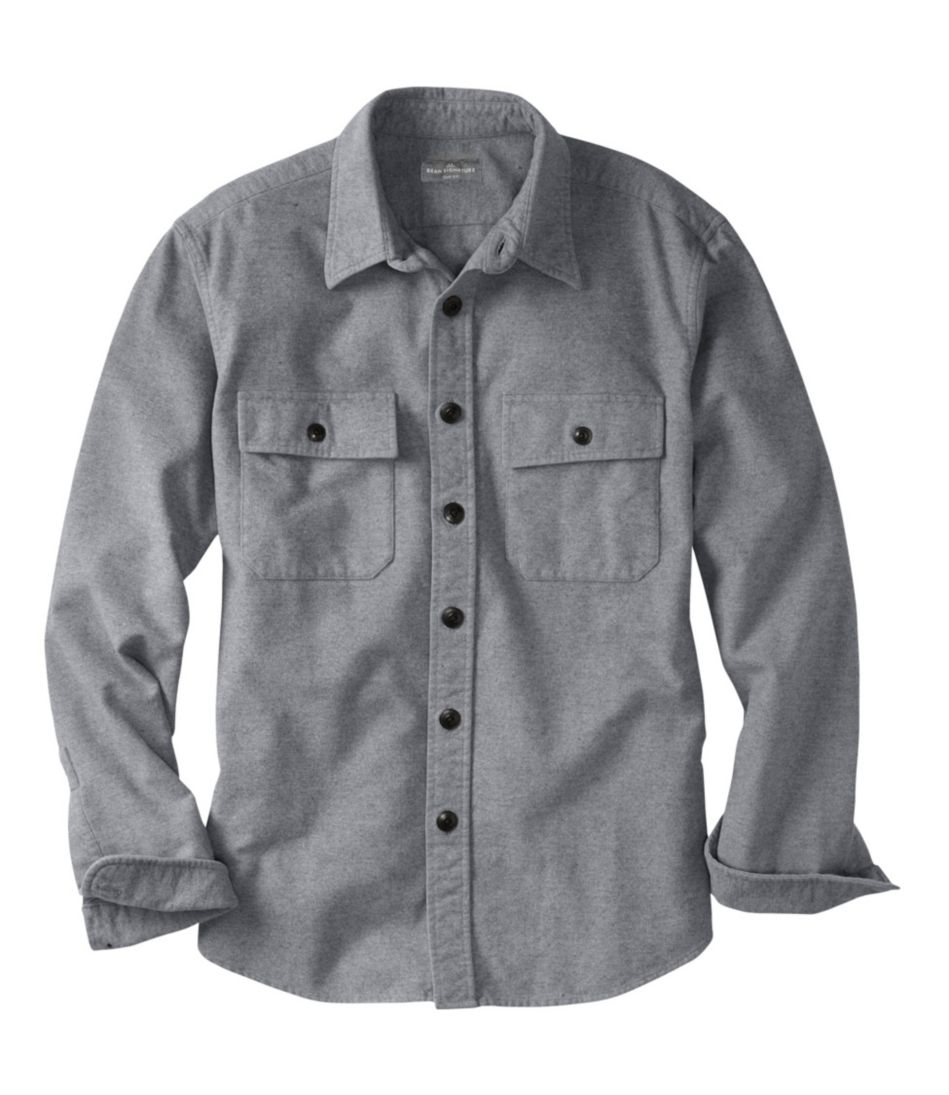 Signature 1933 Chamois Cloth Shirt, Slim Fit