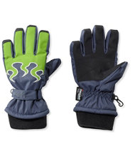 Kids' Waterproof Flame Gloves