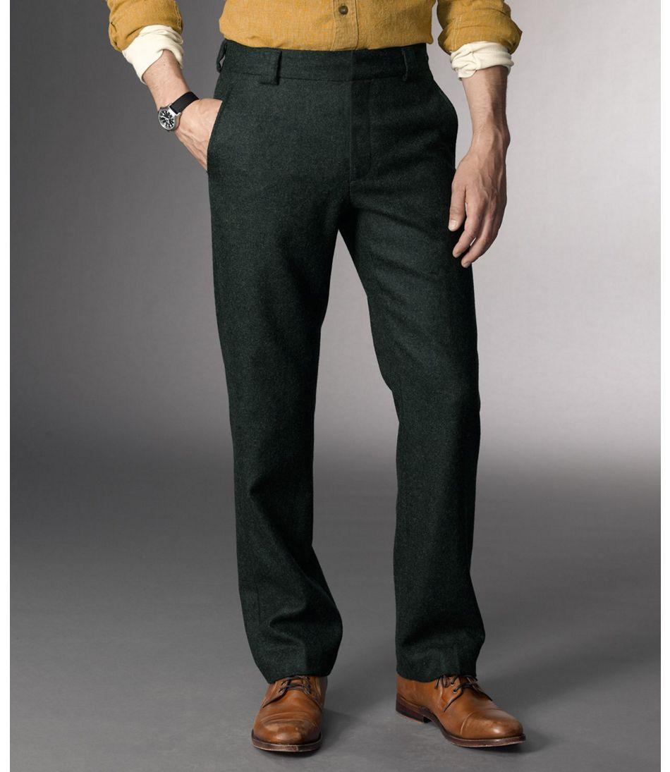Men's Signature Wool Slacks