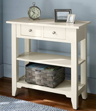 Painted Cottage Storage Console