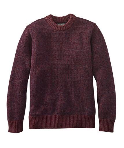 Men's Signature Matinicus Rock Sweater, Crewneck