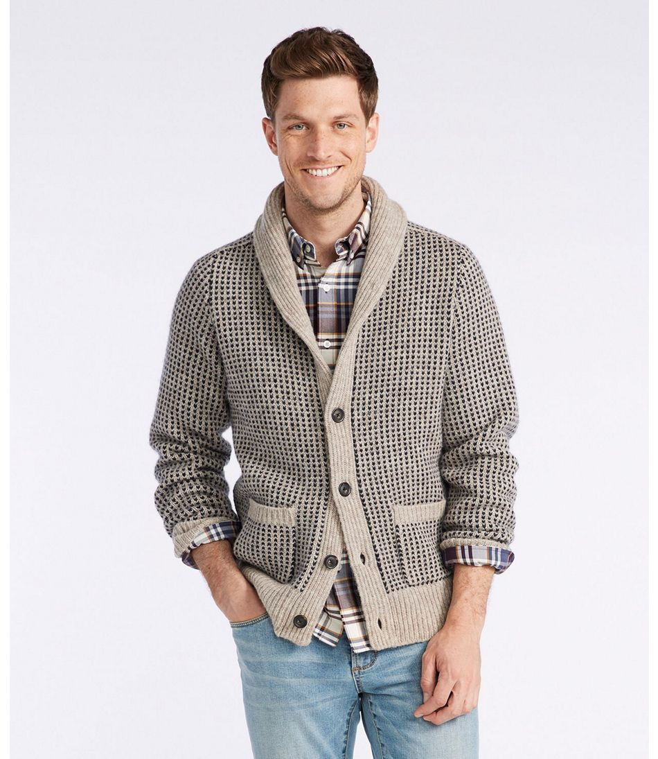 Men's Vintage Sweaters – 1920s to 1960s Retro Jumpers Signature Matinicus Rock Cardigan $139.00 AT vintagedancer.com