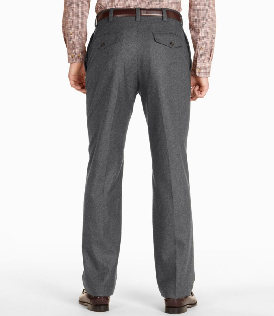 Washable Wool Flannel Pants