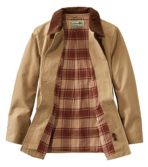 Women's Adirondack Barn Coat, Flannel-Lined