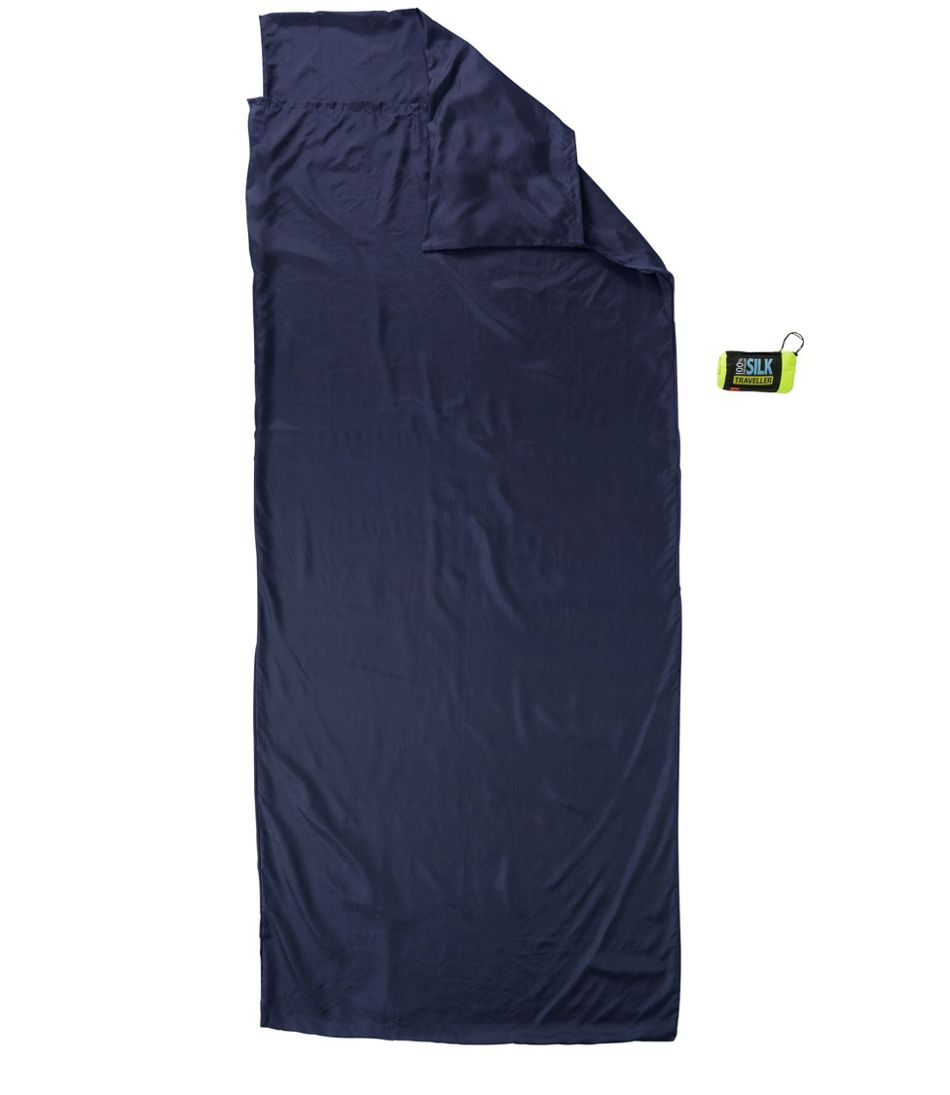 Sea to Summit Silk Sleeping Bag Liner, Traveller