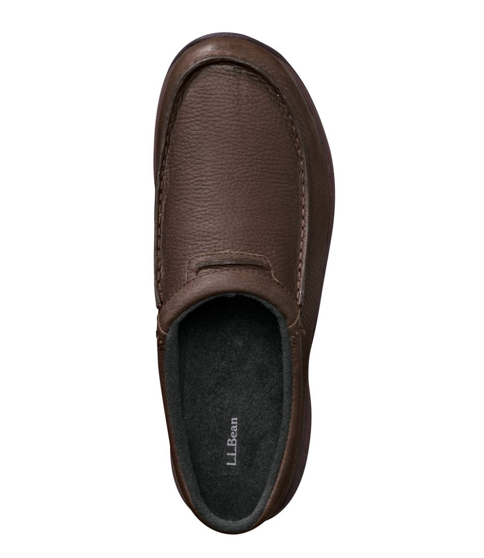 Men's Comfort Mocs, Leather Slides/n