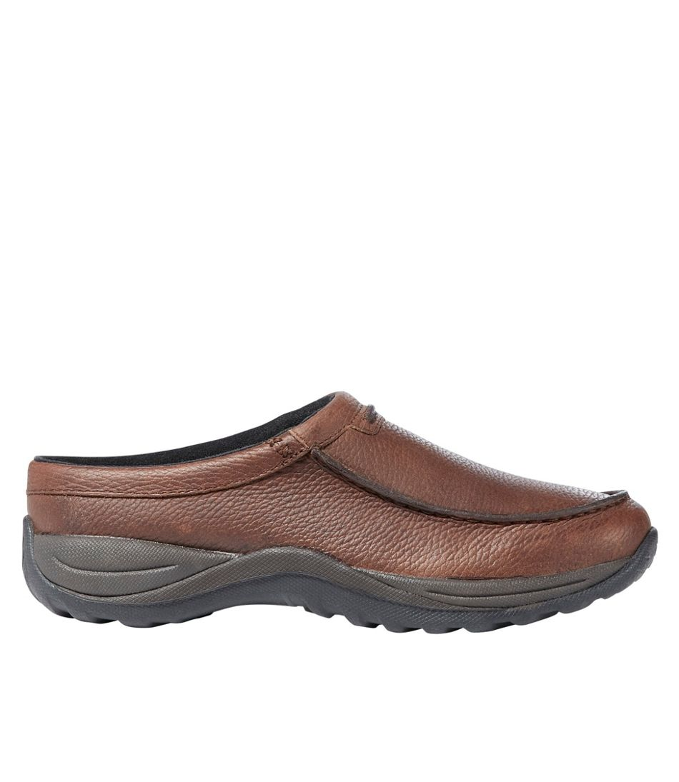 Men's Comfort Mocs, Leather Slides