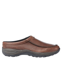 Men's Comfort Mocs, Leather Slides