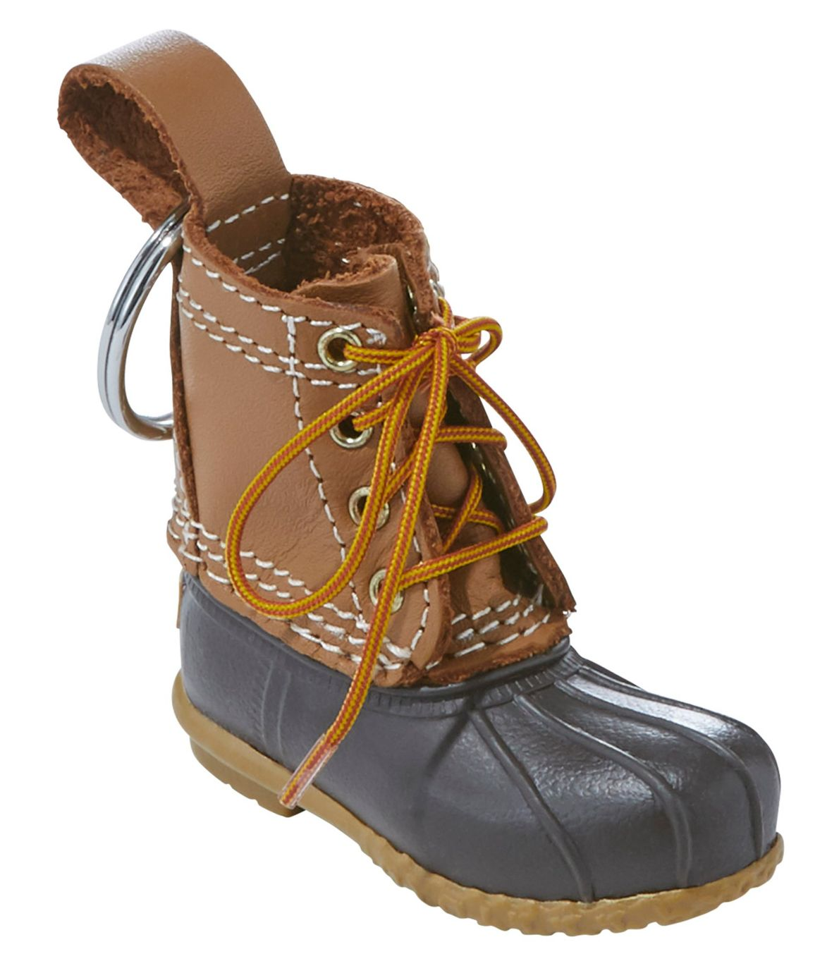 Bean Boot Key Chain, Tan/Brown