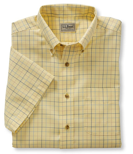 Men 39 s wrinkle free twill sport shirt traditional fit for Ll bean wrinkle resistant shirts