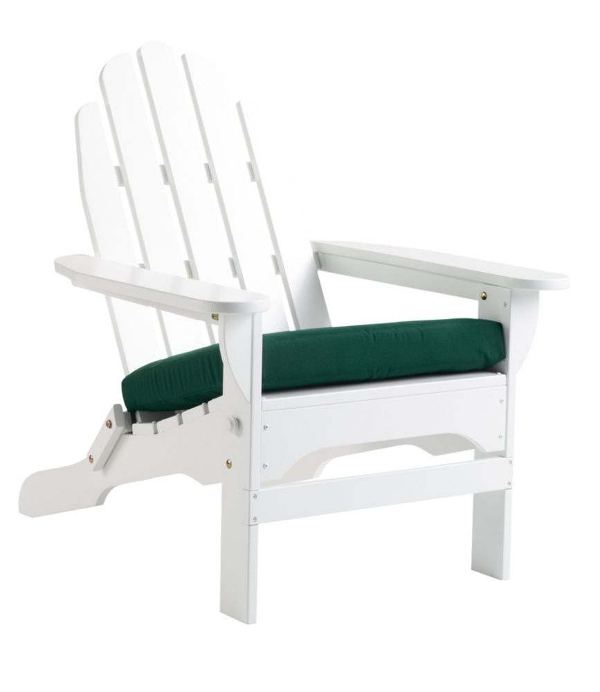 sc 1 st  LLBean & Casco Bay Adirondack Chair Seat Cushion