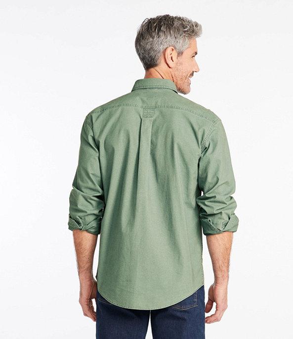 Sunwashed Canvas Shirt Long Sleeve Traditional Fit, , large image number 2