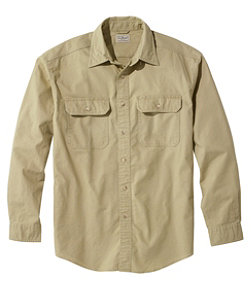 Sunwashed Canvas Shirt, Traditional Fit