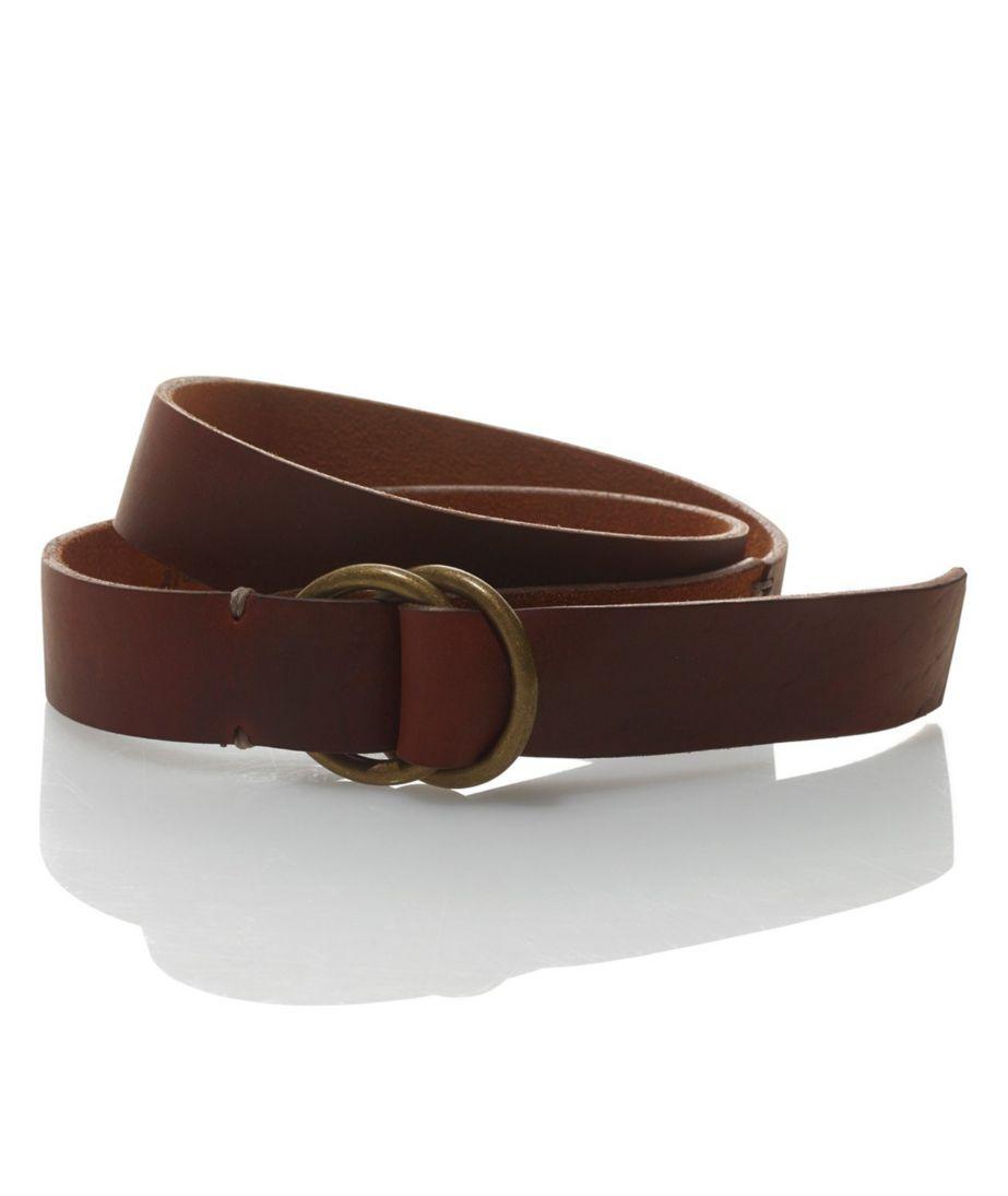 Signature Men's Handsewn O-Ring Belt