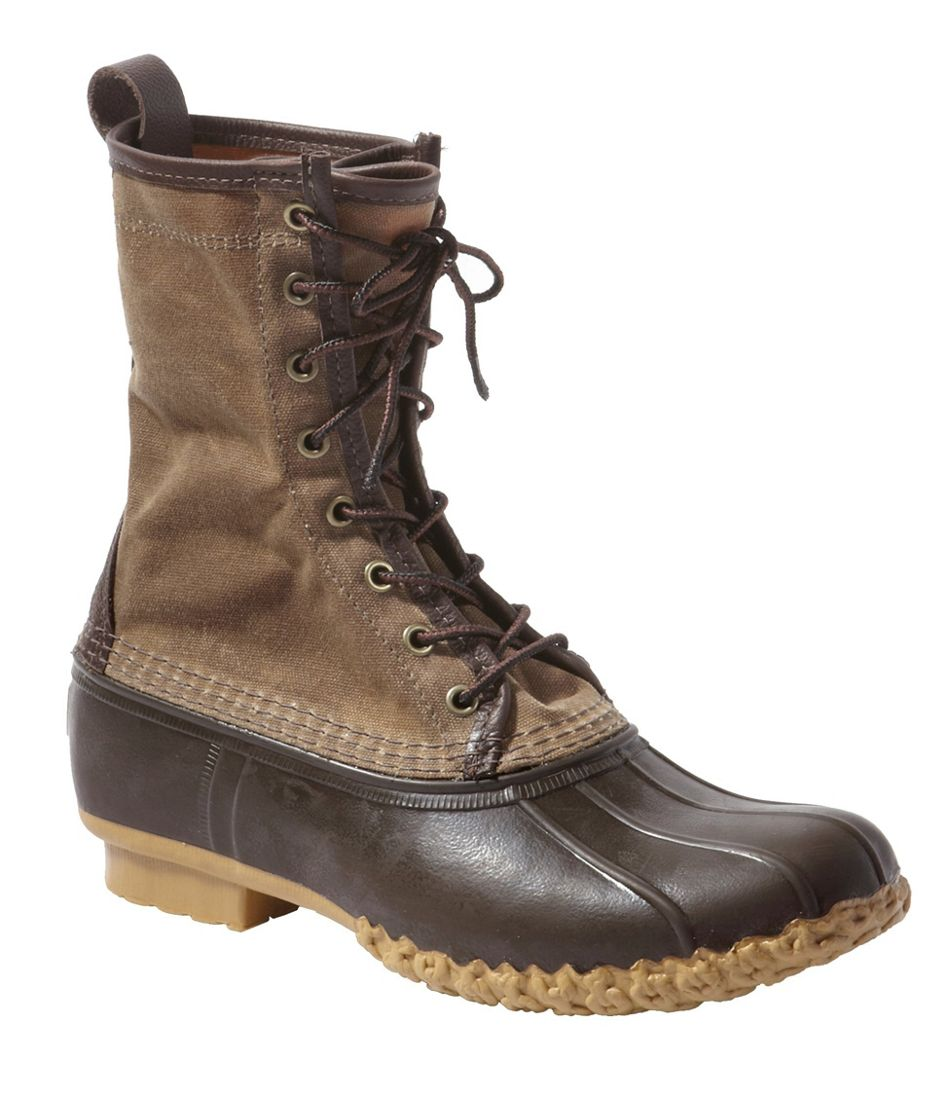 """Women's Signature Waxed-Canvas Maine Hunting Shoe, 10"""""""