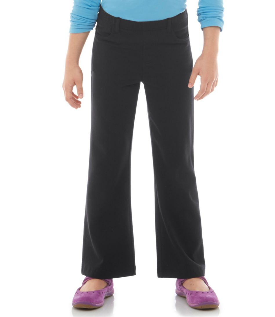 Girls' Freeport Knit Pants, Boot-Cut