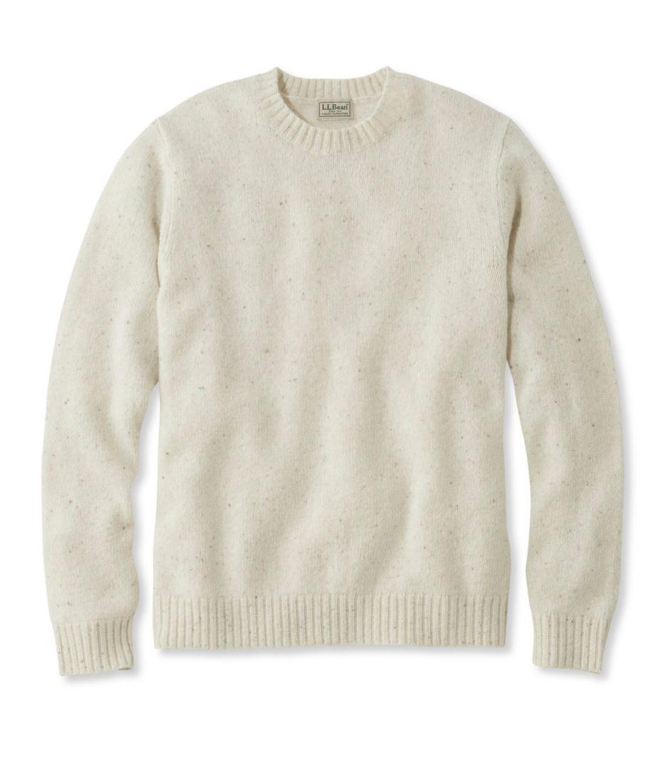 Shetland Wool Sweater, Crew