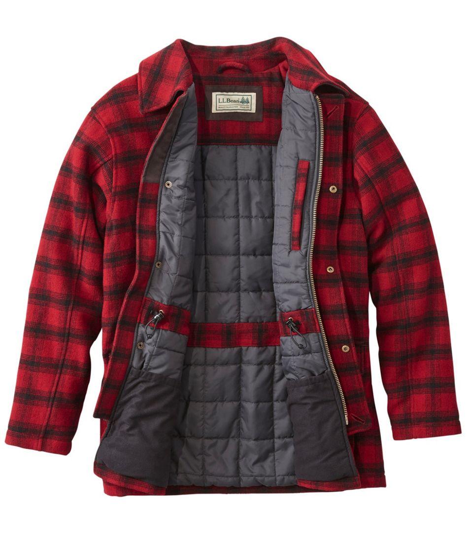 Men's Maine Guide Wool Parka, PrimaLoft