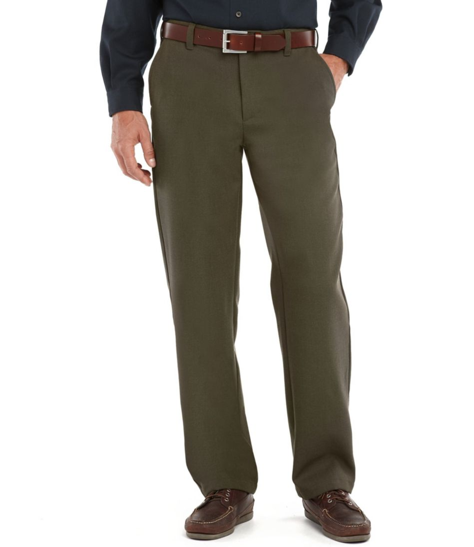 Washable Wool Whipcord Pants