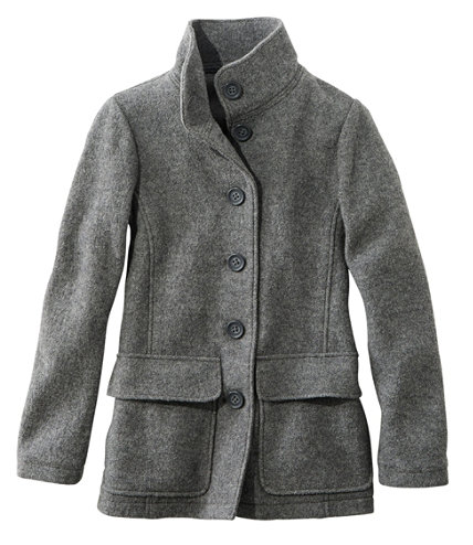 Women's L.L.Bean Boiled Wool Jacket | Free Shipping at L.L.Bean