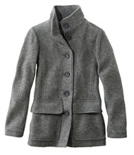 Women's Wool Coats | Free Shipping at L.L.Bean