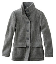 Women's Wool Coats | Free Shipping at L.L.Bean