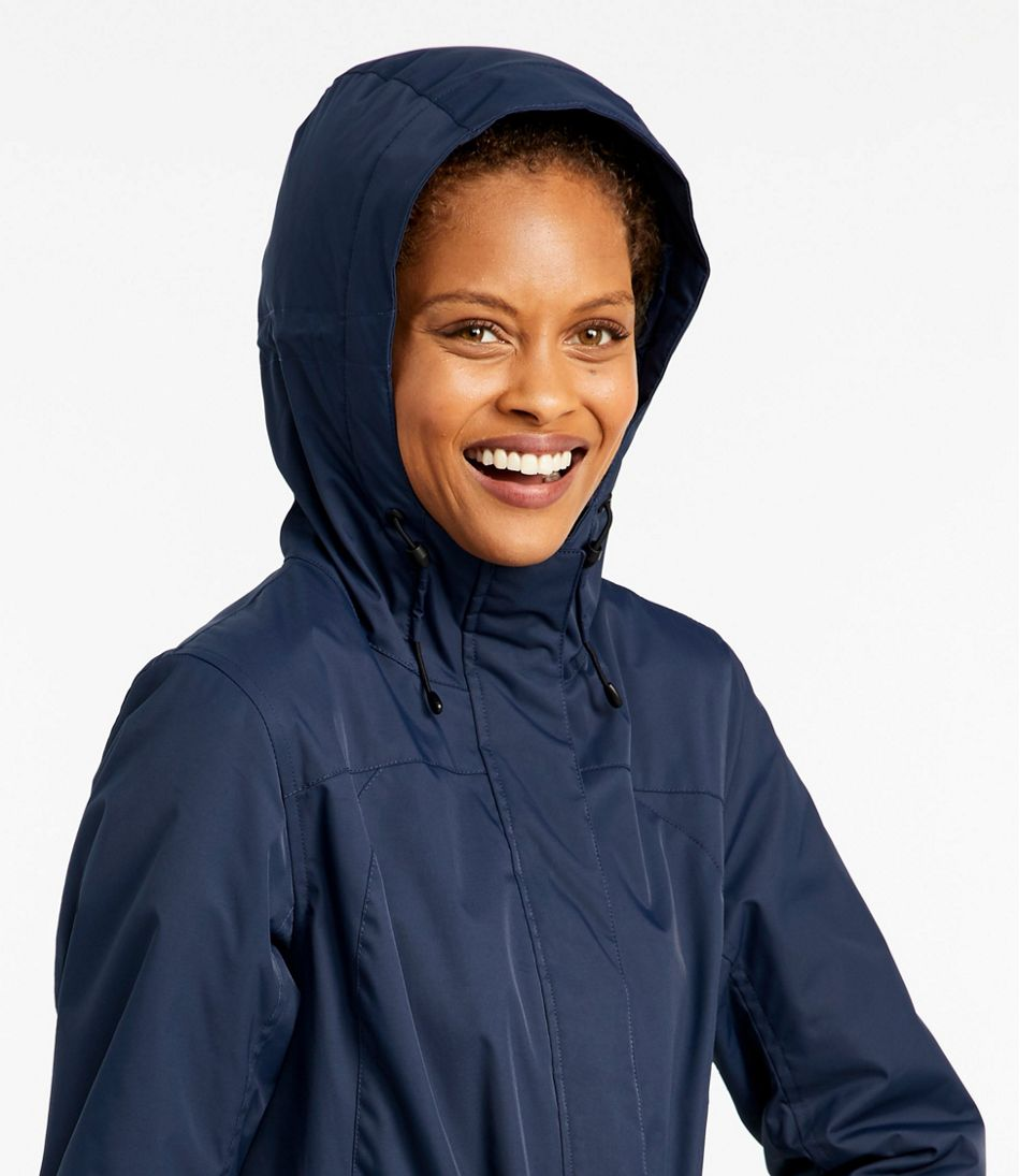 Lands' End Women's Heathered Squall Parka at Amazon Women's