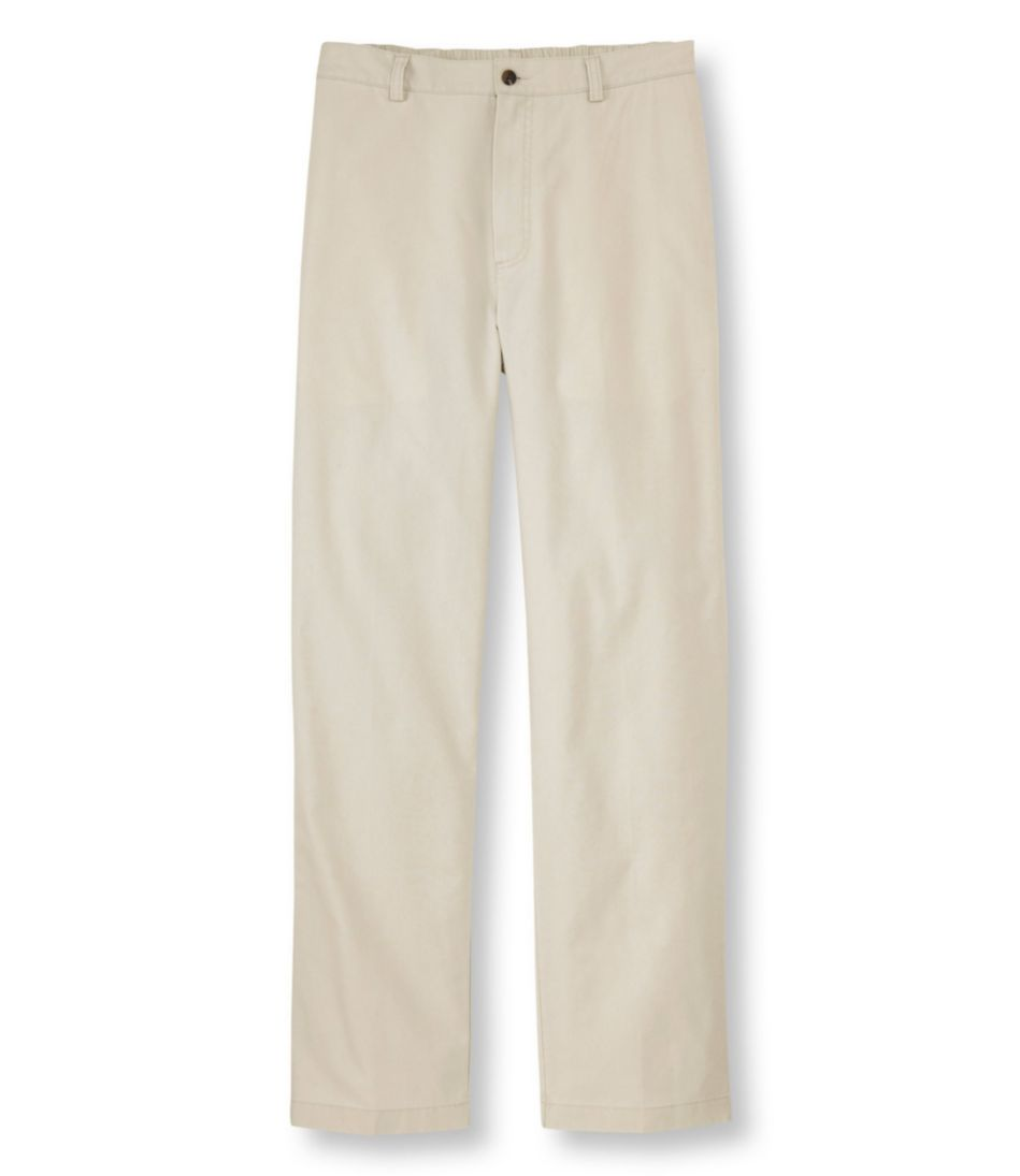 Tropic-Weight Chino Pants, Comfort Waist Plain Front