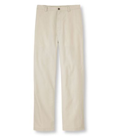 Tropic-Weight Chino Pants, Comfort Waist Plain Front
