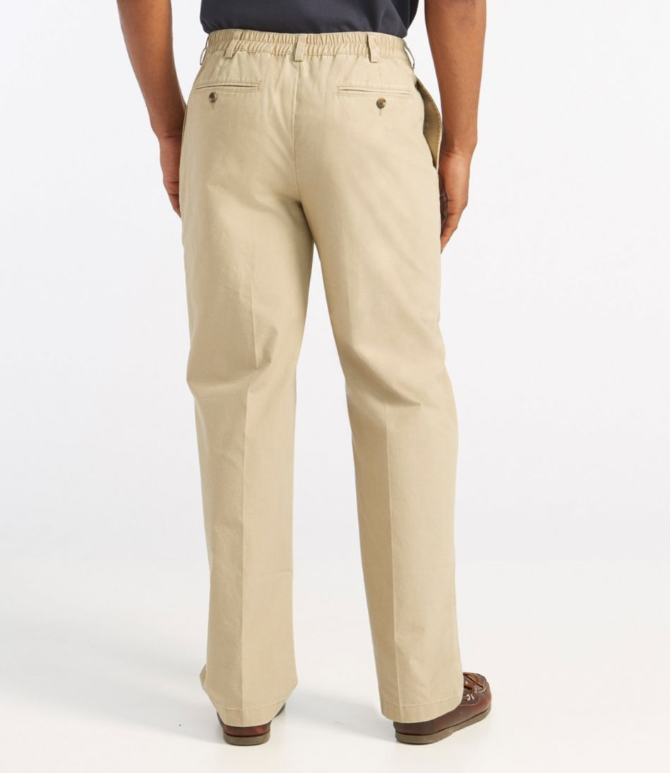 Tropic-Weight Chino Pants, Comfort Waist Pleated