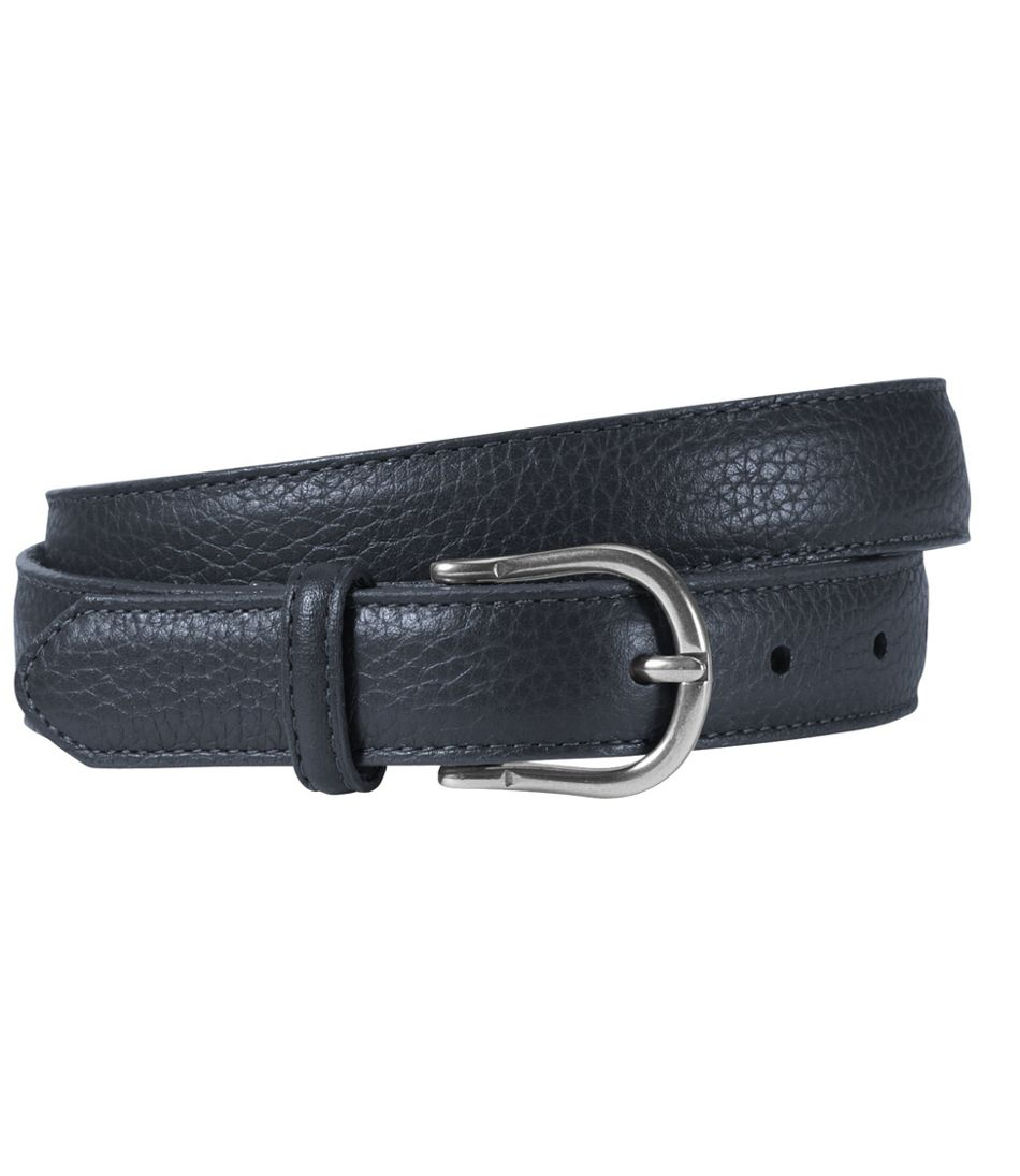 Women's Pebbled Leather Belt