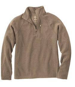 Men's Fitness Fleece, Quarter-Zip Pullover