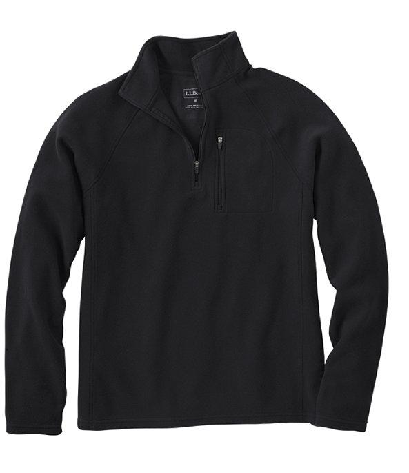Fitness Fleece Quarter-Zip Pullover, Ink Black, large image number 0