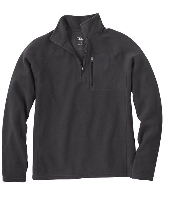 Fitness Fleece Quarter-Zip Pullover, Alloy Gray, large image number 0