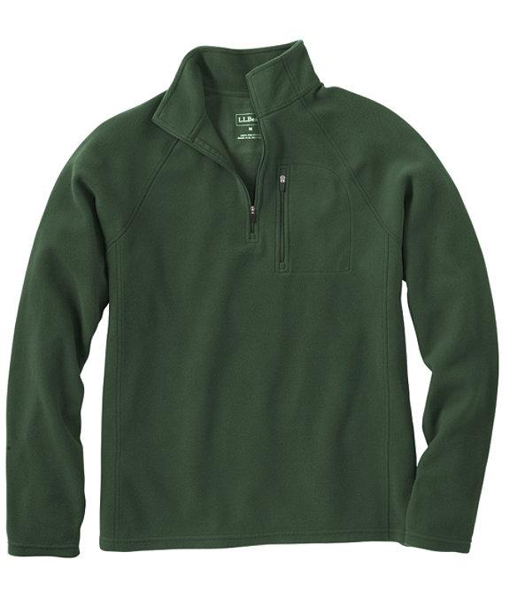 Fitness Fleece Quarter-Zip Pullover, Deep Balsam, large image number 0