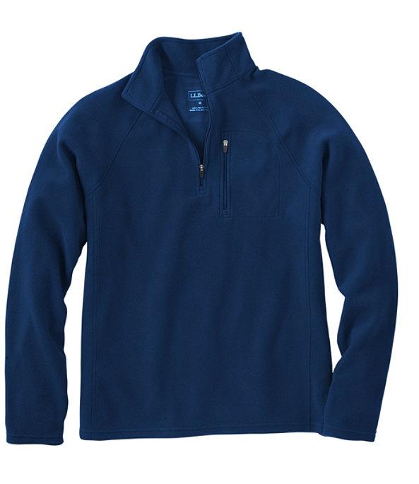 Fitness Fleece Quarter-Zip Pullover, Collegiate Blue, large image number 0
