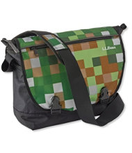 L.L.Bean Messenger Bag, Print